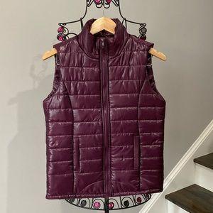 NEW Rue 21 Maroon Puffer Vest Medium